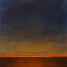 "View ""the early hours no 1, acrylic on canvas, 12x12 inches, 2012"""