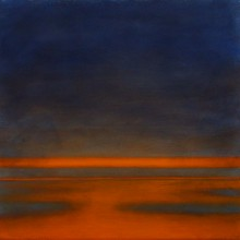 "View ""the early hours no. 2,  acrylic on canvas,  12x12 inches,  2012"""