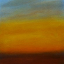"View ""sunrise 1.5,  acrylic on canvas,  12x12 inches,  2011"""